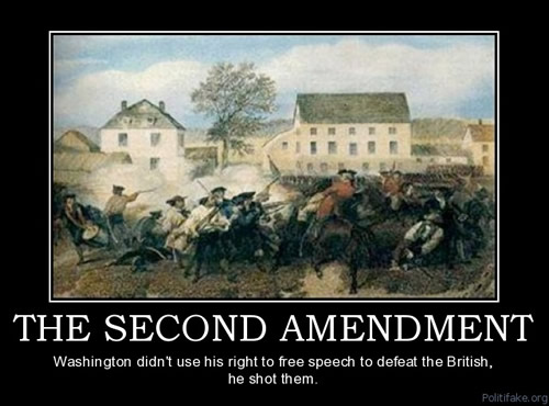 should the us government revisit the second amendment Joshua lott - reuters a recent poll suggests americans will consider  however,  the court may revisit gun control in an upcoming challenge to.