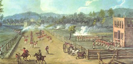 The Battle of Germantown - October 24, 1777