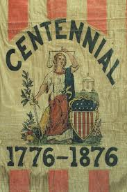 American Centennial Flag 1876