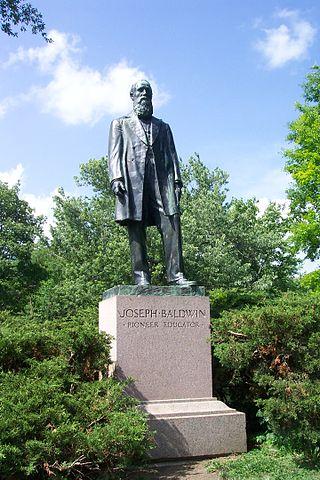 Joseph_Baldwin_statue