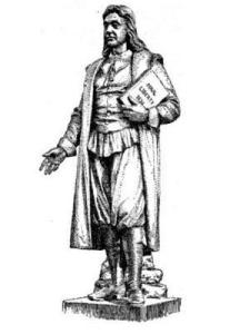 Roger Williams was an English Protestant theologian who was an early proponent of religious freedom, he started the Baptist church in America.