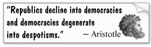 Despotism Aristotle