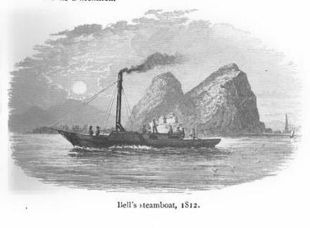 Bell's Steamboat 1812