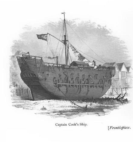 Captain Cooks Ship