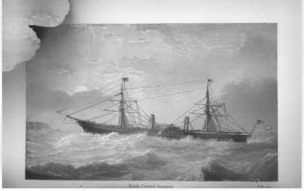 Early Cunard Steamer