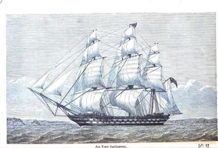 An East Indiaman