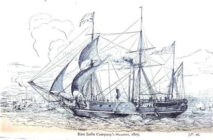 East India Company Steamer 1835