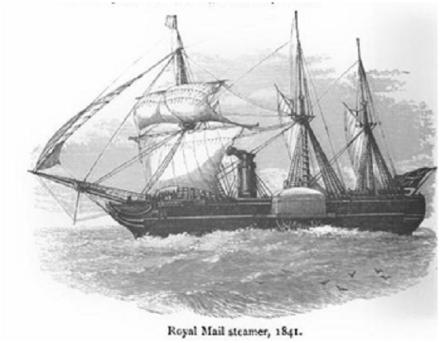 RoyalMailSteamer1841