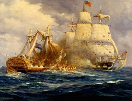 USS Constitution vs HMS Guerriere War of 1812