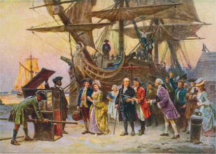Franklin's Philadelphia 1785