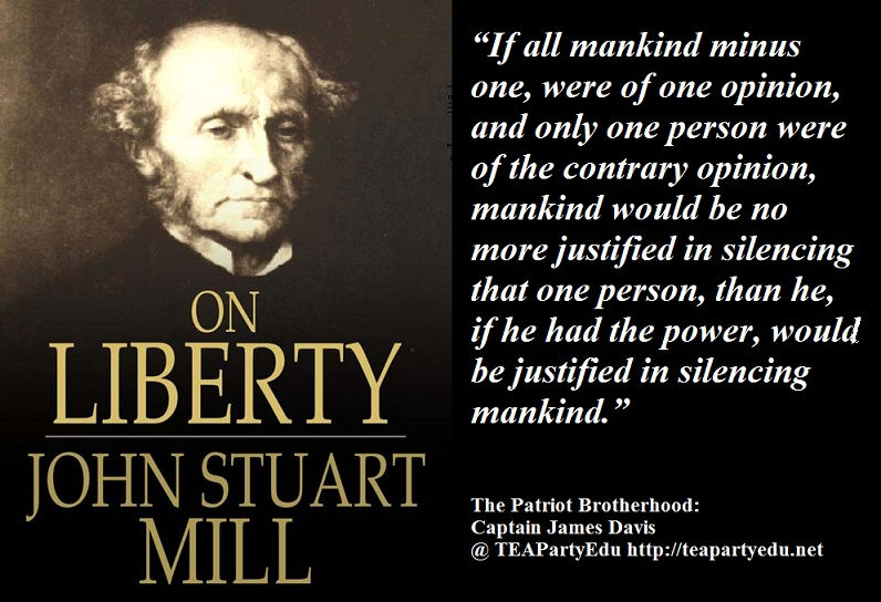 conformity and individuality in on liberty by john stuart mill On liberty john stuart mill 1859 batoche books kitchener  chapter 3: of individuality, as one of the elements of well-being  52  by liberty, was meant .