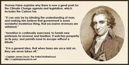 Thomas Paine quotes taxes