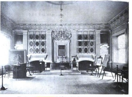 Old photo of Independence Hall; Philadelphia, Pennsylvania where the Declaration was signed