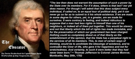 ThomasJeffersonQuotePersonalRights