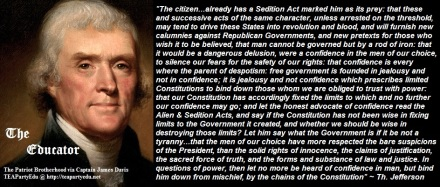 Thomas Jefferson: Confidence in Government (Click to enlarge)