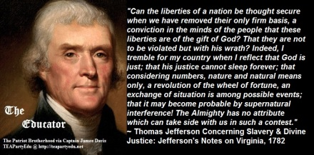 ThomasJeffersonQuoteDivineJustice