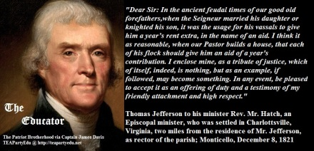 Contrary to what Liberals, Democrats, popular culture & other would have you believe Jefferson, Washington, Franklin and others were far from deists or atheists (Click to enlarge)