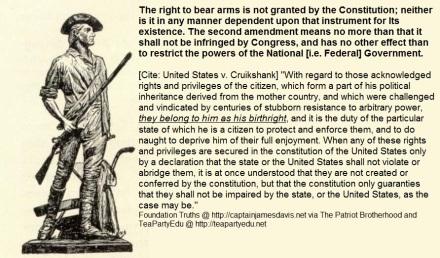 2nd Amendment Militia Right to Bear Arms